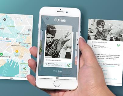 ViSparer Arena (app design)