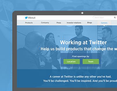 Twitter Careers