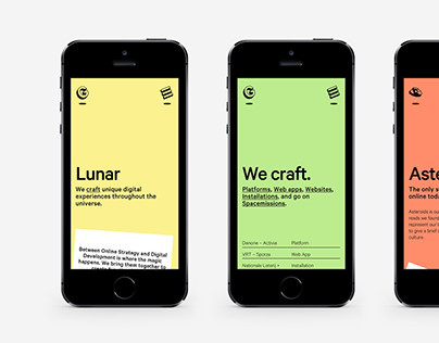 Lunar Gravity - Website Design & Development