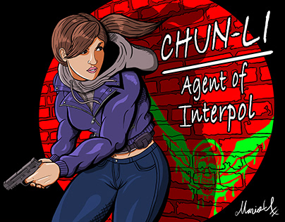 Undercover Chun Li -Agent of Interpol