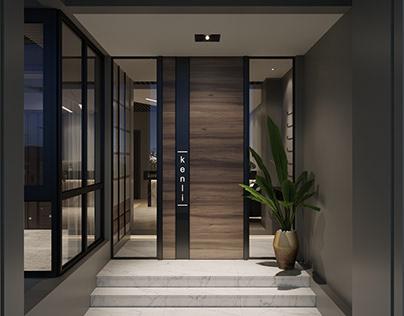 """Showroom """"Kenli"""" by K-Render Studio"""
