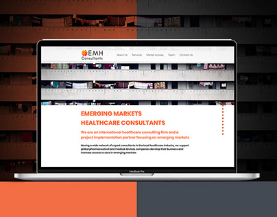 EMH Website Design
