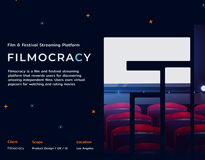Filmocracy gamified movie streaming platform