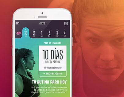 App Kotex Sports
