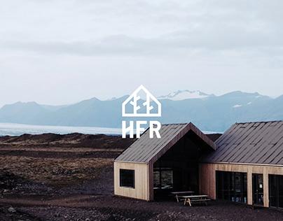 House For Rest - Branding, Web Design