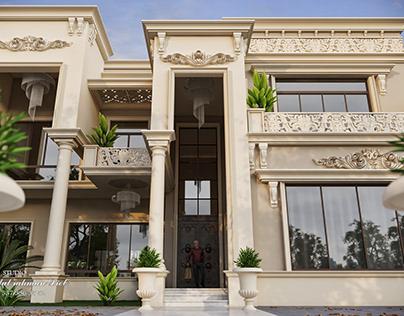 Twin villa new classic style