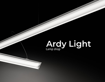 Ardy Light. Lamp shop