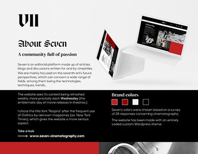 Seven - editorial platform