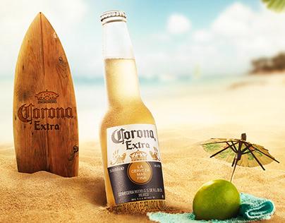 Corona - Fotografía de Producto.