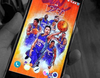 SUN'S DAY smartphone lock screen wallpaper