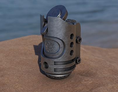 Cigarette lighter (3D concept)