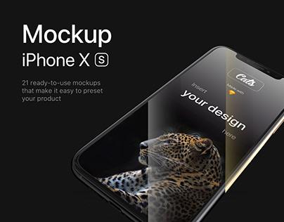 Cats - iPhone XS Mockups