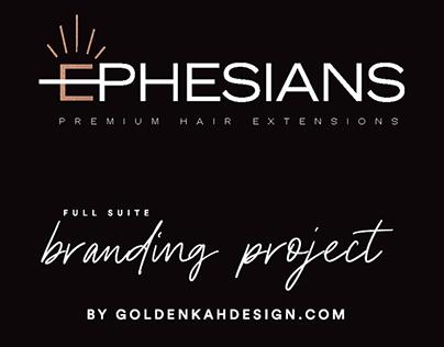 Ephesians Hair Branding Project