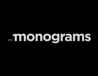 MONOGRAMS VOL. 1