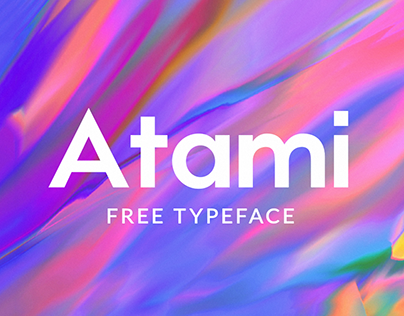 Atami - Free Typeface
