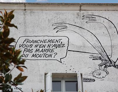 Série de photos sur Angoulême : Une ville Artistique