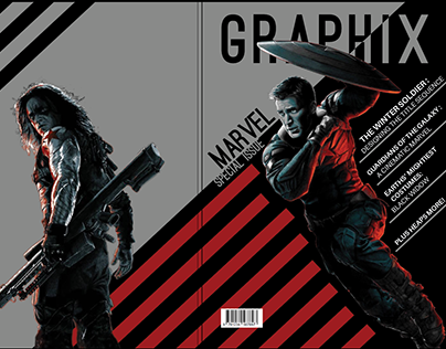Creating the Cover for Graphix Magazine