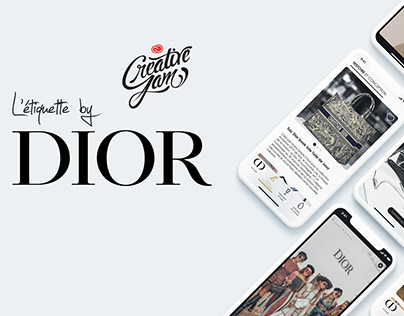 L'étiquette by DIOR - Adobe Creative Jam Luxe