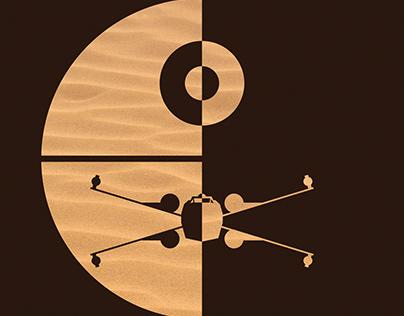 Star Wars Minimalist Fanart Posters