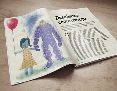Illustration | Desalento como Amigo - VS174