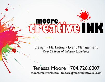 New Moore Creative Ink Logo