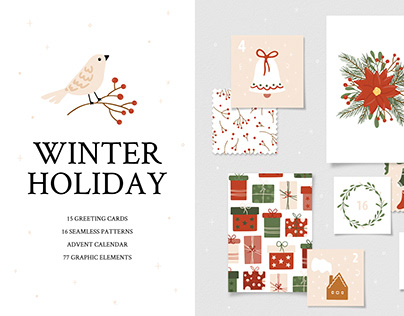 Winter Holiday Christmas Clipart