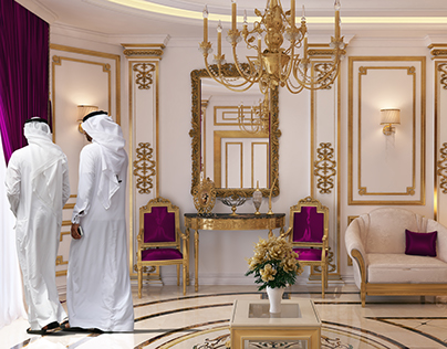 Interior Arab Villa-Design