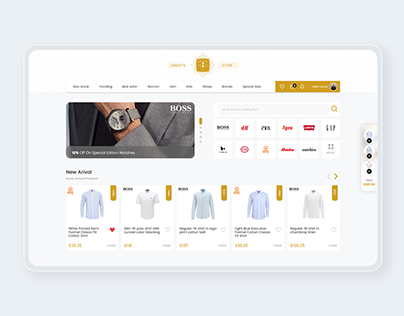 Fashion Brand Based E-commerce UX/UI