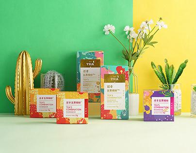五茶缤纷——时尚调味袋泡茶
