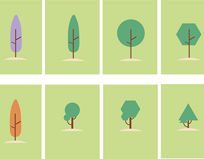 Map Assets - Trees