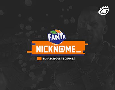 Fanta Nickname - 2do Lugar Nuevos Talentos El Ojo 2019