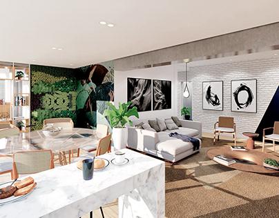 Imagens 3D - Projeto Cardeal Arco Verde