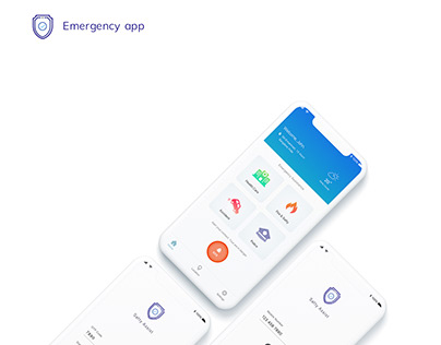 Emergency app concept design