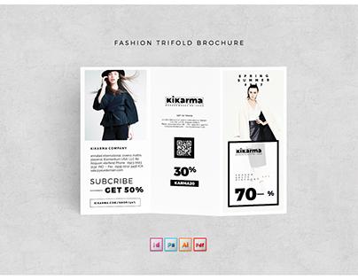 Fashion Tri-fold Brochure