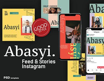 Abasyi Social Media Instagram Template