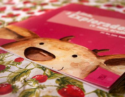 Lina, a Exploradora (e suas orelhas) - children book