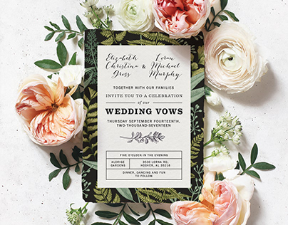 Wedding Invitations & Save-the-Dates