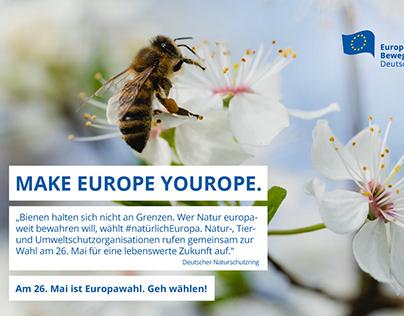Wahlaufrufe zur Europawahl