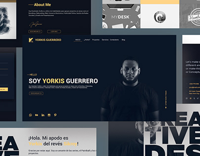 Design web for my portfolio online