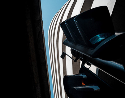 Leica Photography / Switzerland / car parking