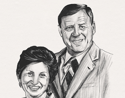 Portrait of Al and Sue