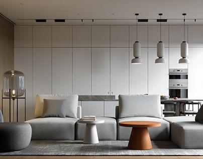 Kitchen Living Room_6