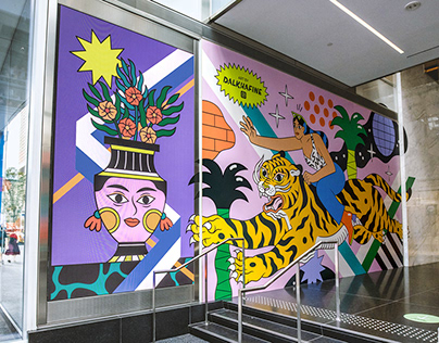 Yorkville Murals Toronto