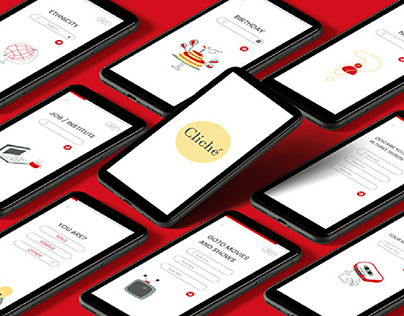 UX CASE STUDY (CLICHE : A dating application)
