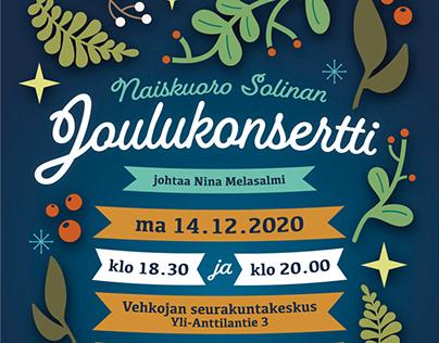 POSTERS: Naiskuoro Solina (2011-2020)