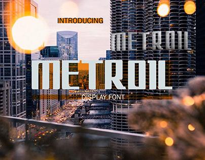 Metroil Font