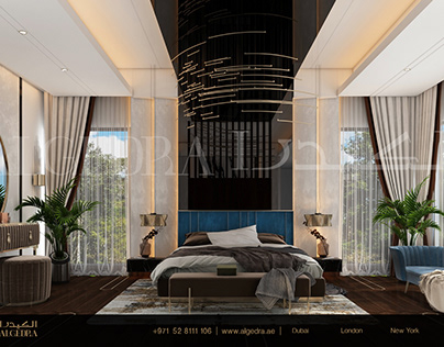 Luxurious and Modern Style Bedroom Design by ALGEDRA