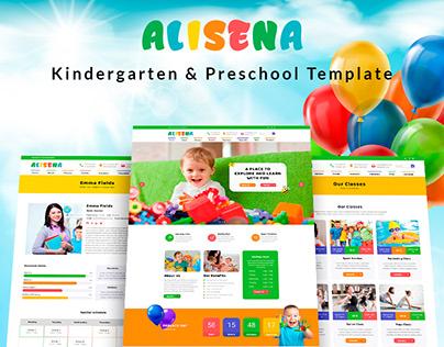 Alisena - Kindergarten & Preschool Template