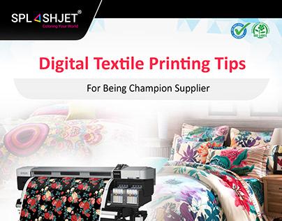 Digital Textile Printing Tips