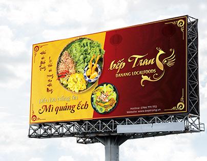 BEP TRANG - Quang Noodles Billboard Ads